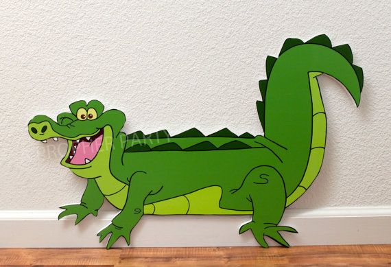 Neverland Crocodile  Neverland Party Decor  by APropHerParty