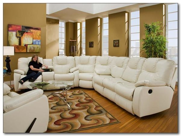 Southern Motion   Avalon Cream Reclining Sectional   838 WT