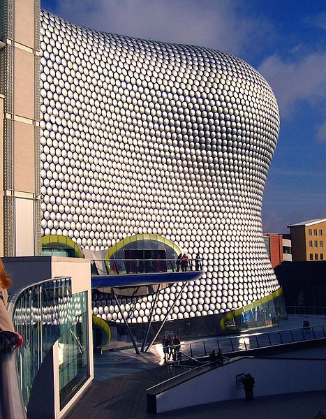 One of my favourite buildings - the stunning Selfridges department store in Birmingham by Czech architect Jan Kaplicky