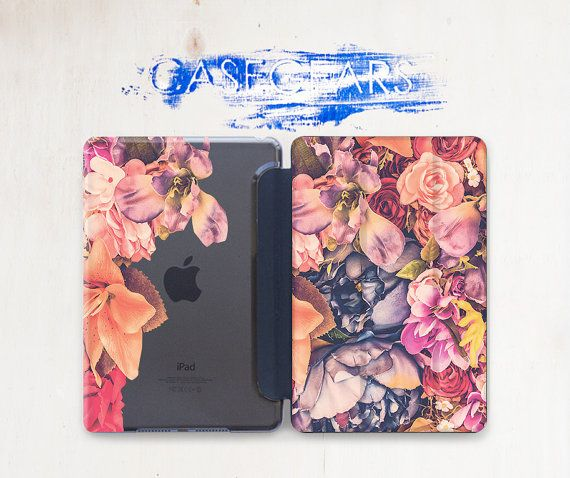 Floral iPad Stand Nature iPad Cover Cute Case iPad by CaseGears