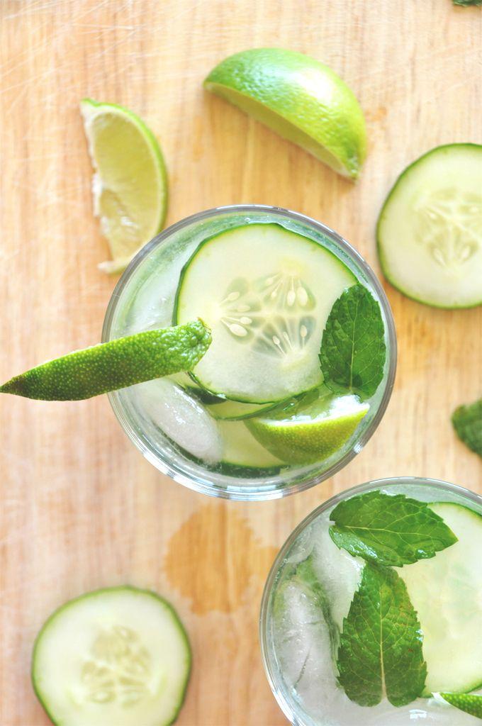 cucumber cooler cocktails!! minimalist baker