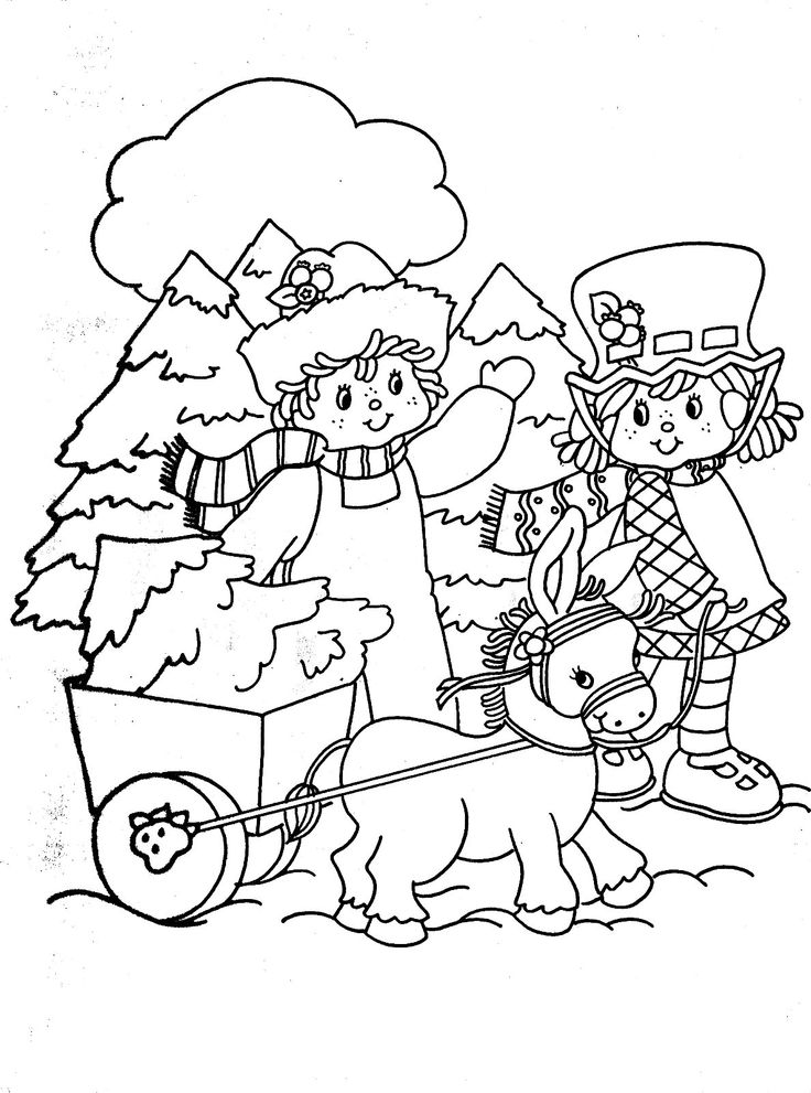 Strawberry Shortcake Image1 1188x1600 Coloring BooksColouringColoring PagesStrawberry ShortcakeChristmas FunChristmas