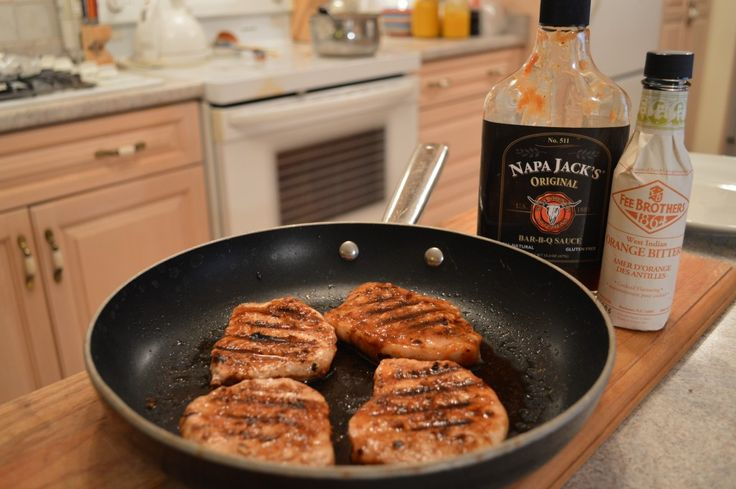These #Grilled #NapaJacks #Orange #BBQ #Pork Loin Center Chops will have you craving more...  This show is brought to you by Wine Country Kitchens: http://WineCountryKitchens.com  * Subscribe to Cooking With Kimberly: http://cookingwithkimberly.com @CookingWithKimE #cwk