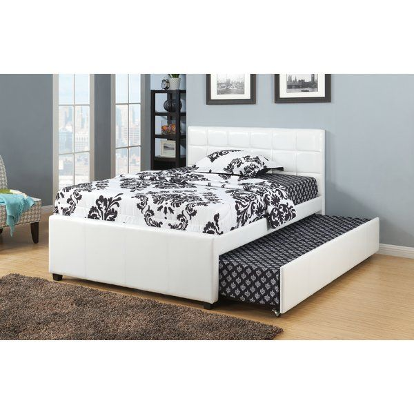 Dupuy Upholstered Platform Bed Twin Trundle Bed Full Bed With
