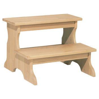 best wooden step stools  on Pinterest