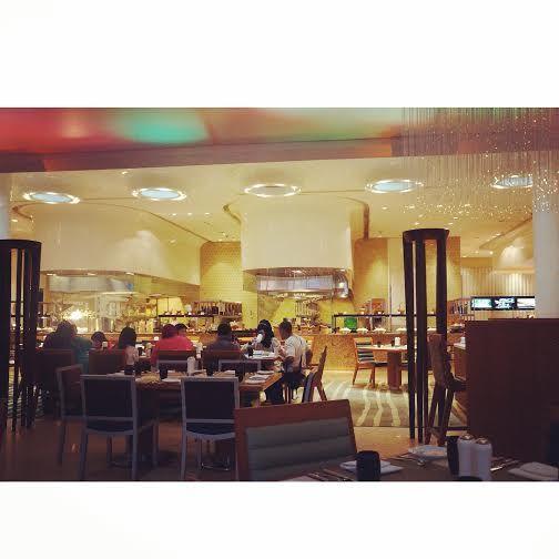 first day buka puasa at JW Marriott Medan