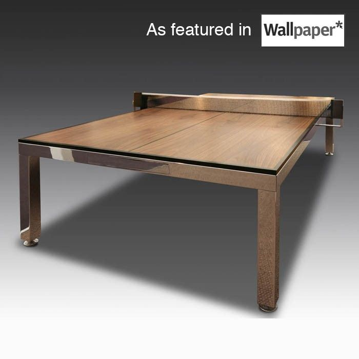 Handmade in the UK and personalised for you, our brilliant dining/tennis table is a real showstopper!