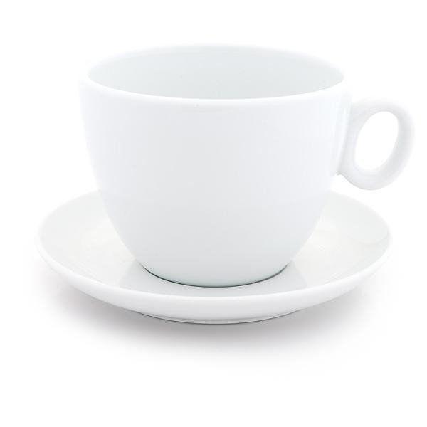 Inker white latte bowl 17 oz