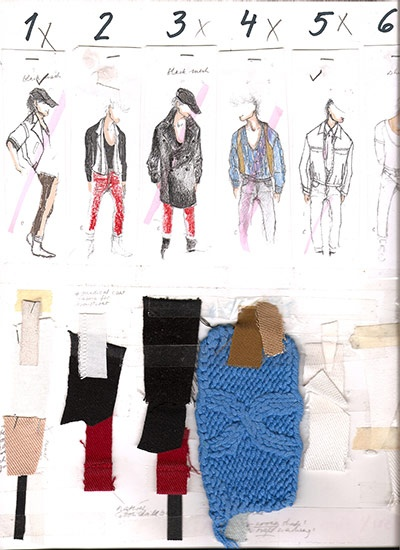 Fashion Designer's Sketchbook