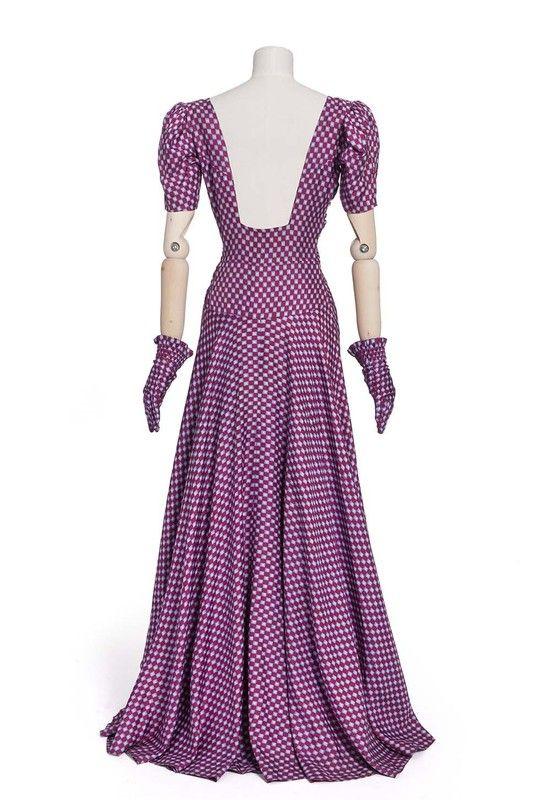 Elsa Schiaparelli,robe, 1939 | Les Arts décoratifs