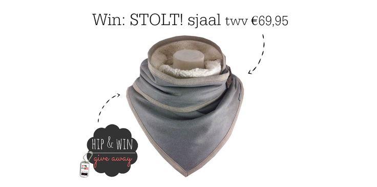 WIN: een hippe sjaal van STOLT! twv €69,95