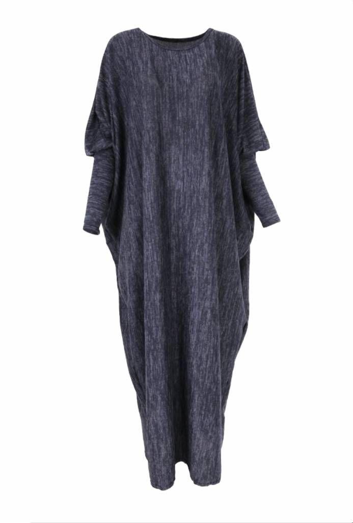 Darkblue Winter Abaya