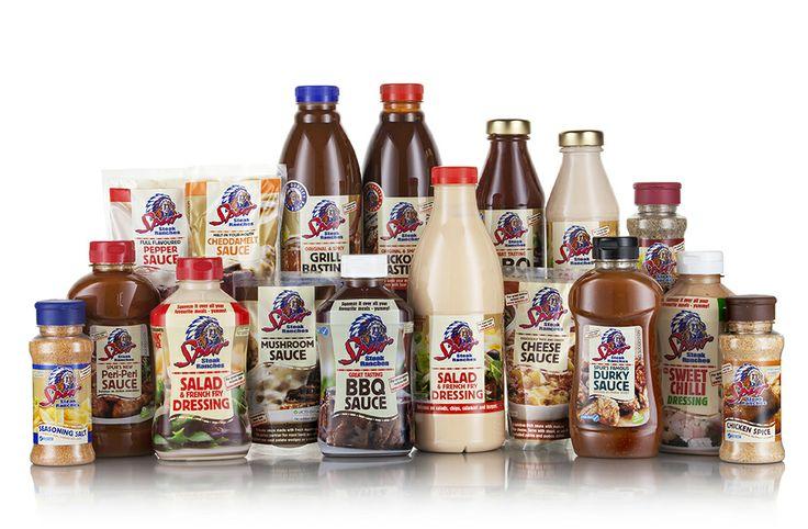 Spur's complete sauces and spices range | https://www.spur.co.za/sauces/spur-sauces