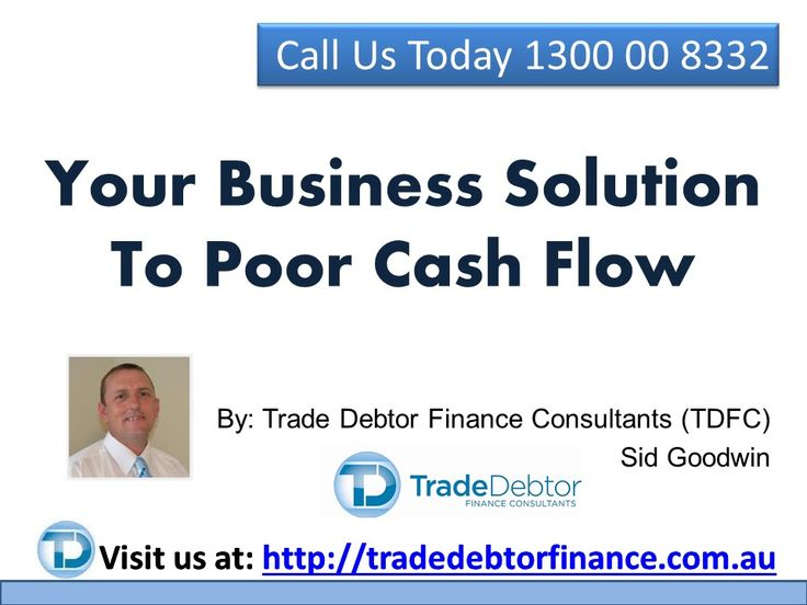 Your  Business Solution To Poor Cash Flow