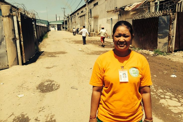 Cambodian garment worker Pav Phanna says the legal minimum wage of $100 a month isn't enough for her to care for her three children.