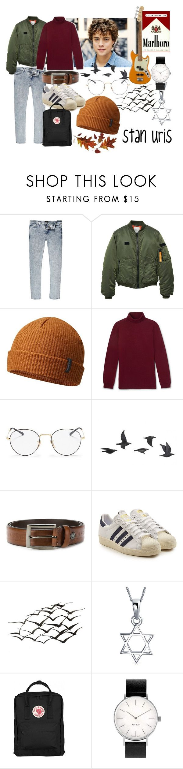 """uris"" by luciatf on Polyvore featuring River Island, MANGO, Columbia, Ray-Ban, Jayson Home, Paul & Shark, adidas Originals, WALL, Bling Jewelry y Thread"