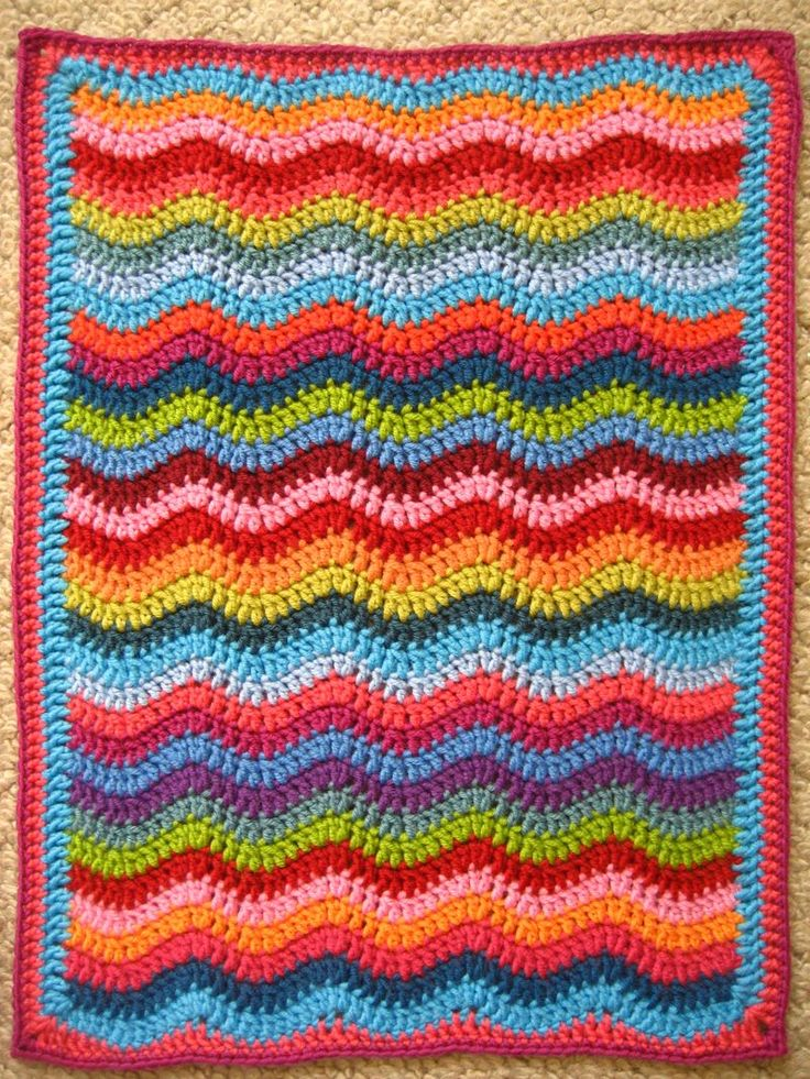 Mini Ripple Doll S Blanket By Lucy Attic24 Granny