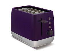 Red Chroma 2 Slice Toaster - Morphy Richards 221109   Creative Housewares