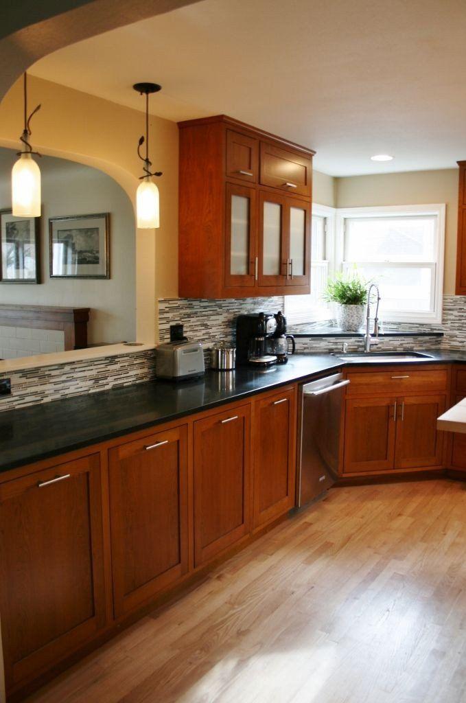 Kitchen Cabinet Countertop Color Combination Kitchen ...