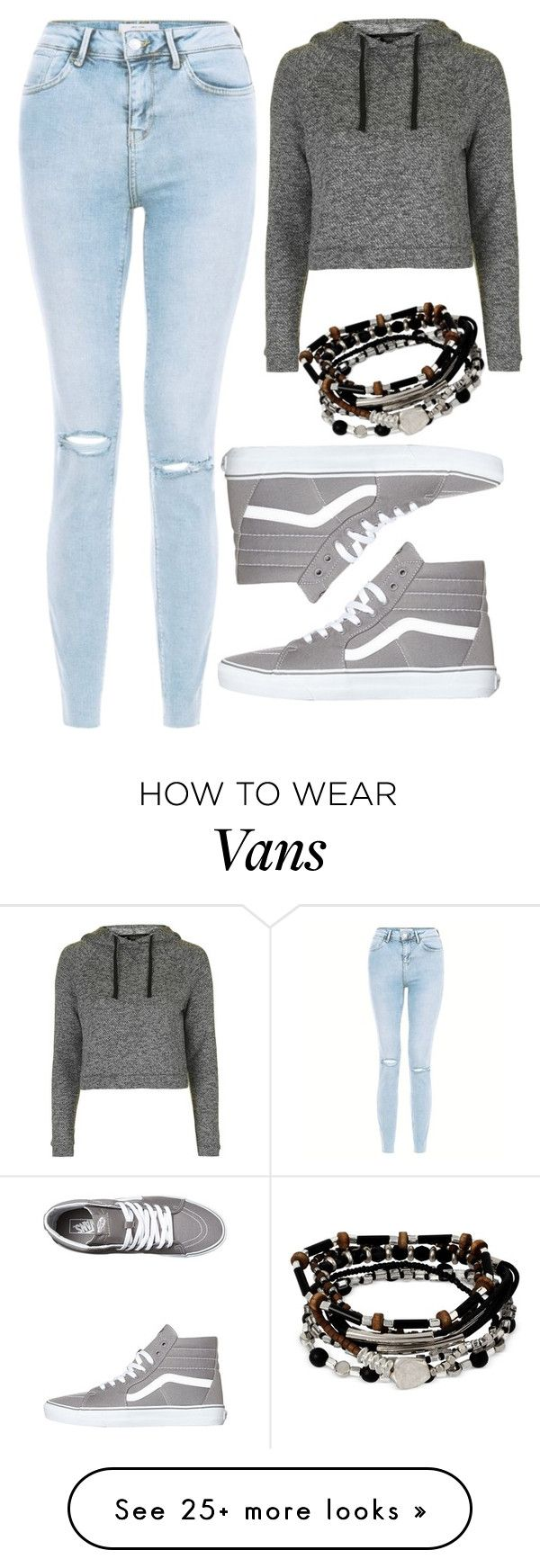 """""""Top #81"""" by deedee-pekarik on Polyvore featuring Topshop, Vans and Kenneth Cole"""