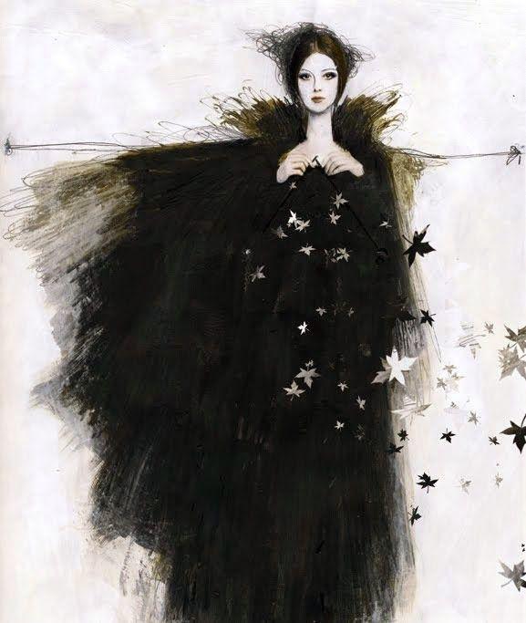 Pinzellades al món: Il·lustracions de Sonia MariaLuce Possentini: sensibilitat en blanc i negre