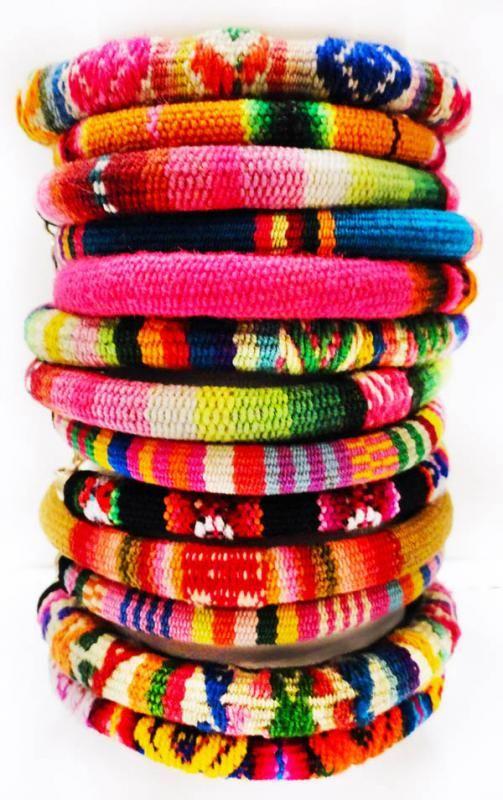 Peruvian Friendship bracelets