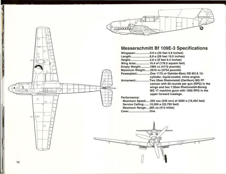 Aircraft  Messerschmitt Bf