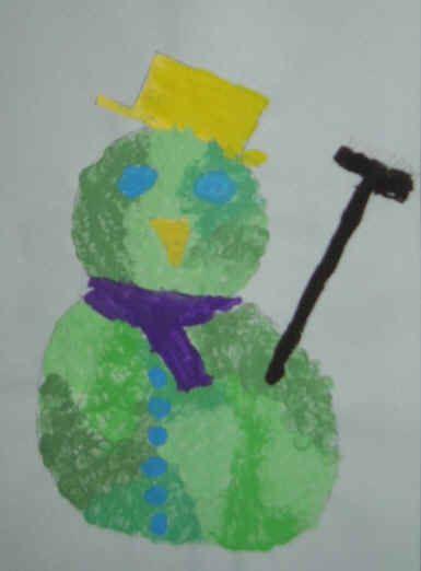 Sneeuwpop - Knutselen!