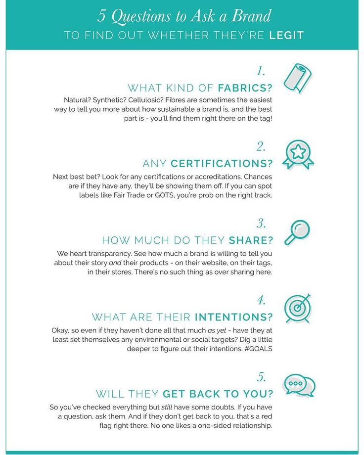 5 questions to figure out which brands are LEGIT. Buyer Beware -  #greenwashing still occurs within…