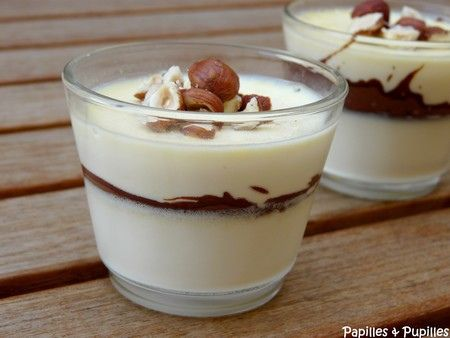 Panacotta au Nutella || The site is in french but you can use Google Translate the simple recipe if you don't read French.