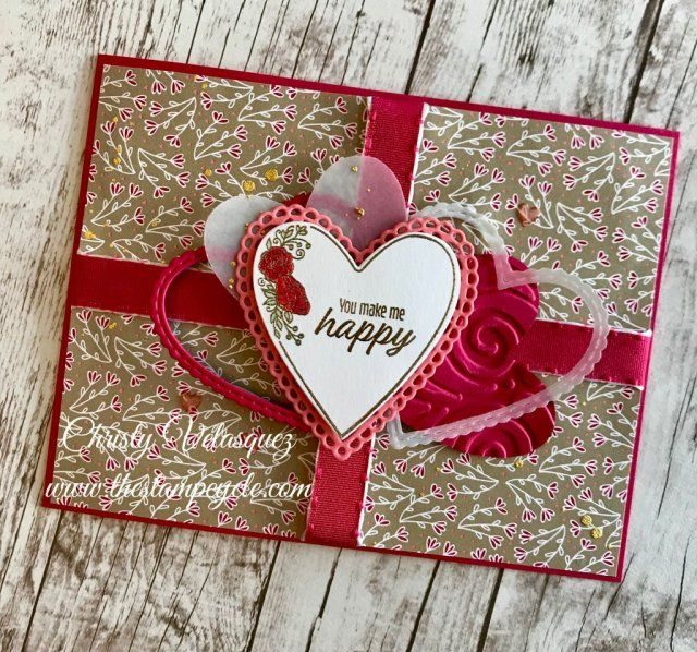 My Card For Tgifchallenge 190 Which Is A Sketch Challenge Featuring New Products Fr Valentines Day Cards Handmade Valentines Cards Stampin Up Valentine Cards