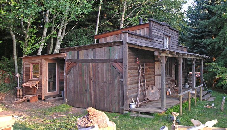 how to build rustic shed