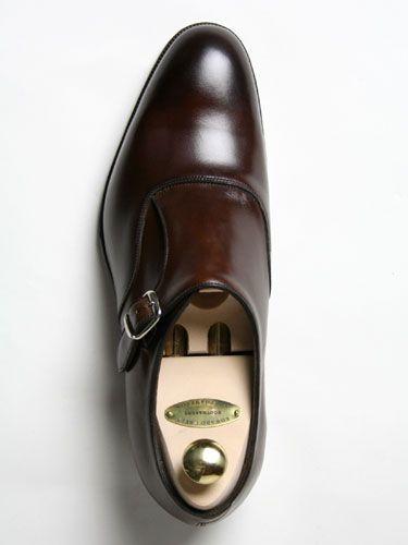 EDWARD GREEN OUNDLE E82 DARK OAK ANTIQUE (including shoe tree): CINQUE CLASSICO