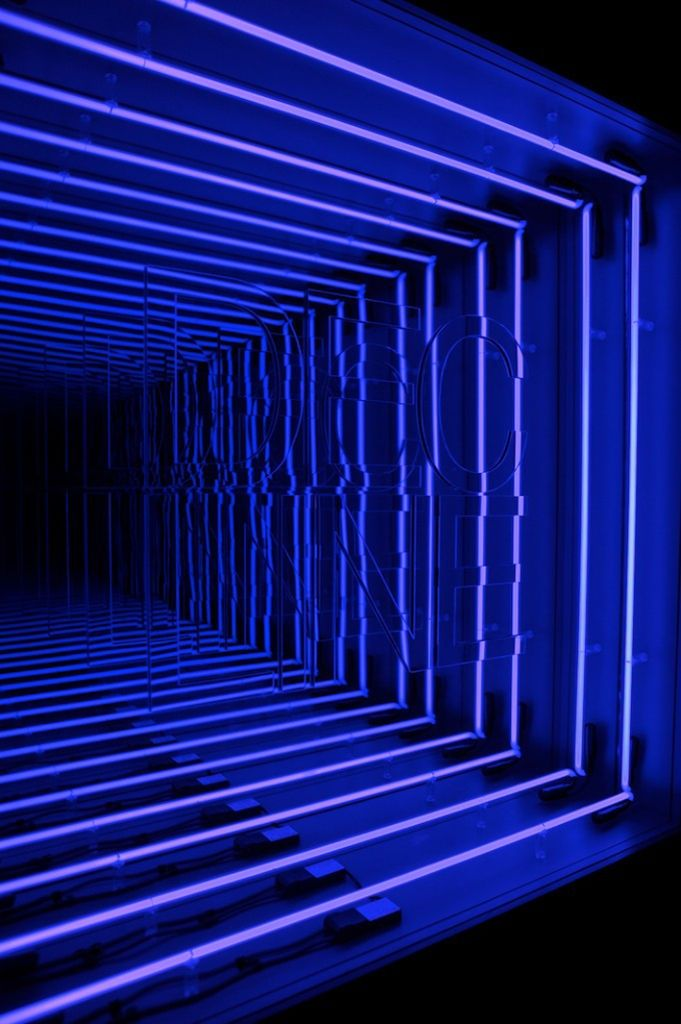 Ivan Navaro Infinity Mirror Infinity Mirror Room Light Art