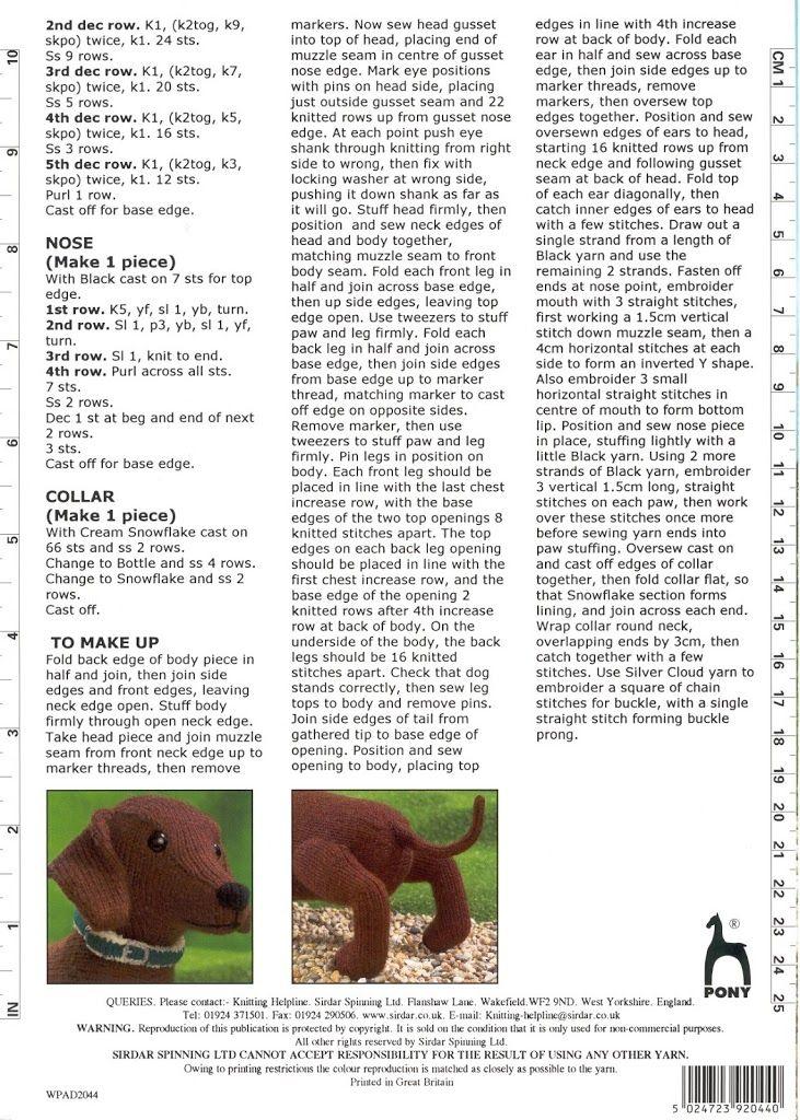 Sirdar Alan Dart's Perfect Pups Dachshund