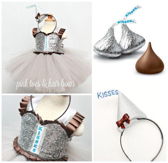 Hershey Kisses tutu dress hershey kisses costume by GlitterMeBaby