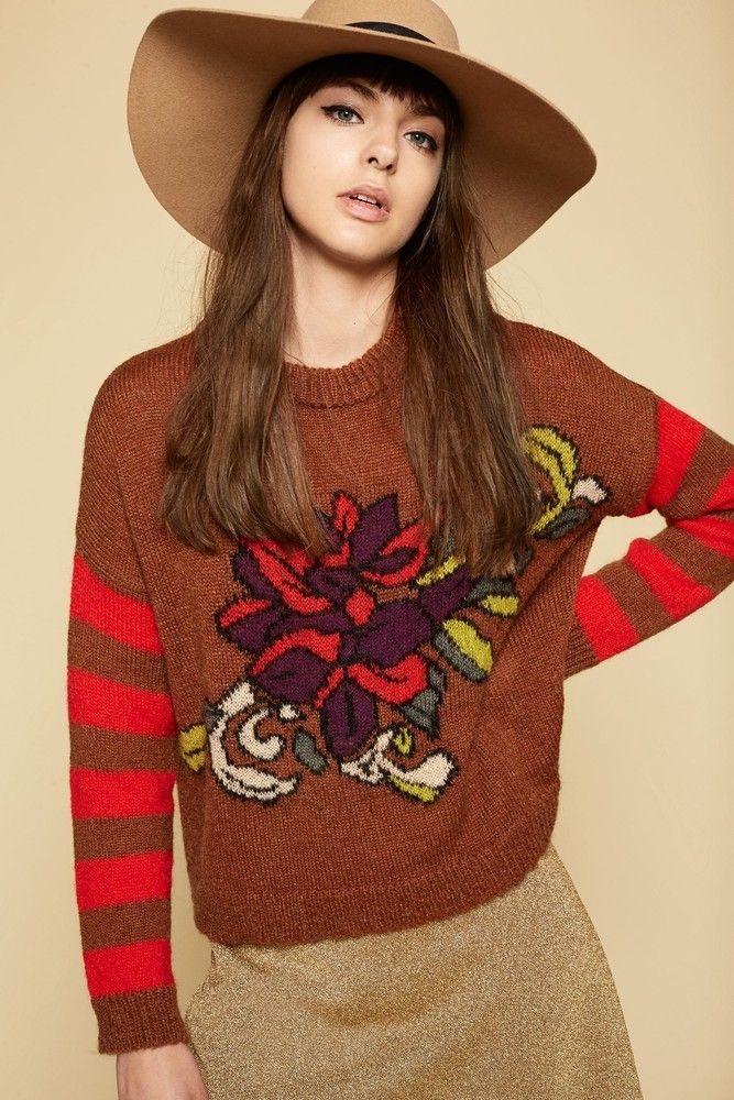 Maglia Lilian Aniye By TAGLIE: M-L (scrivi la taglia nelle note più avanti) #pull #maglione #tricot #lilian #aniyeby #bullacarpaneto #shoponline