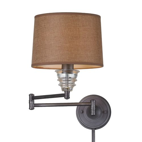 48 best images about swingin 39 wall lamps on pinterest brushed nickel oil rubbed bronze and - Wall mounted touch lamps bedside ...