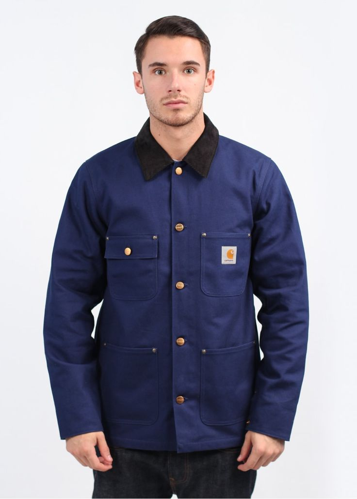 Carhartt Chore Coat - Blue