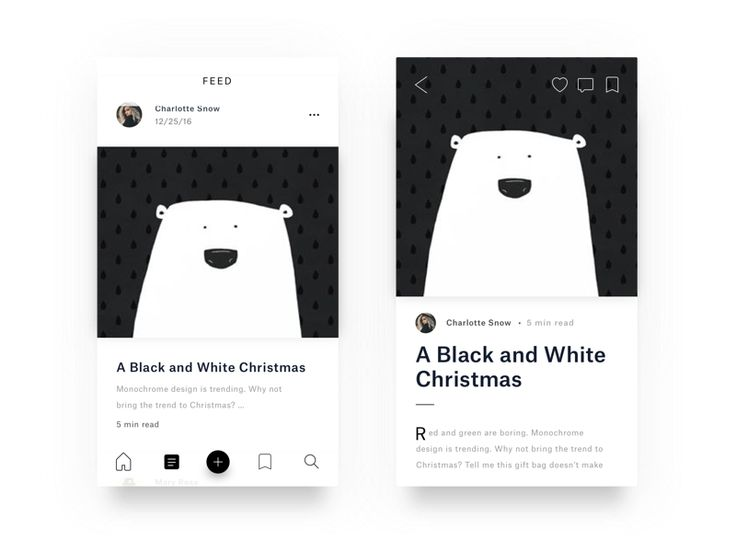 A Black and White Christmas