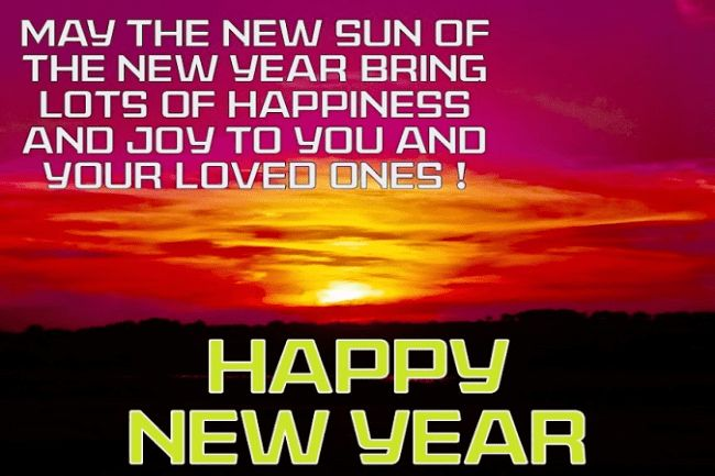 Happy New Year Text Message SMS Card Greeting Quotes Wishes 2018