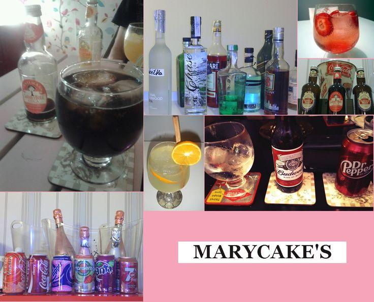 Bebidas de Marycake's.