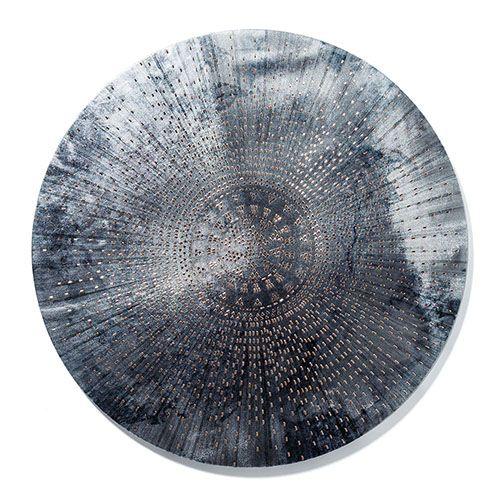 Moroccan Canvas Round