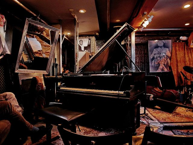 Smalls Jazz Club in NYC…been there a couple of times and loved it.