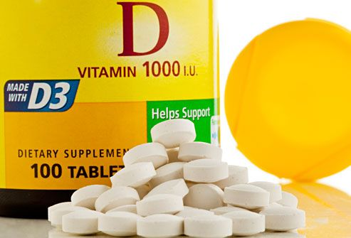 Vitamin D Supplements  For people who want to take vitamin D in pill form, there are two kinds: D2 (ergocalciferol), which is the type found in food, and D3 (cholecalciferol), which is the type made from sunlight. They're produced differently, but both can raise vitamin D levels in your blood. Most multivitamins have 400 IU of vitamin D. Check with your health care provider for the best supplements for your needs