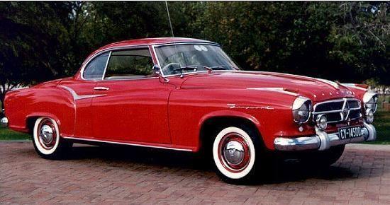 1960 Borgward Coupé