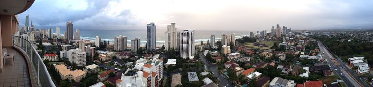 Queensland's surfers Paradise on the Gold Coast