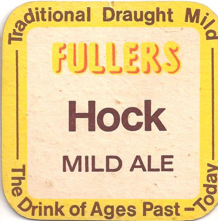 Fullers Vintage Beer Mat