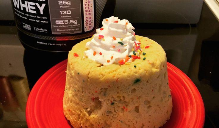 Cellucor Cor Fetti Mug Cake