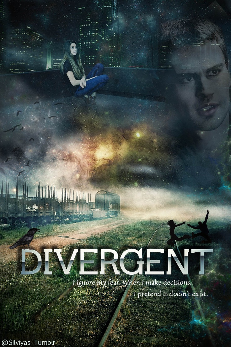 Divergent.. This is one of my favorite pictures for Divergent... I even set it as the background for my phone :)